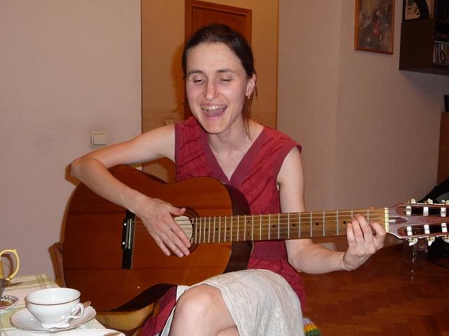 Очень красивая песня Сании, фото Тагира Мамлеева